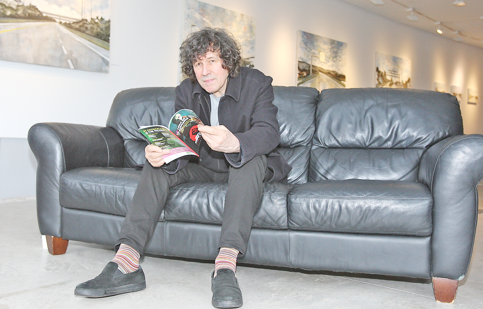 Star Stephen Rea at the launch of the Respect Belfast Film Festival yesterday