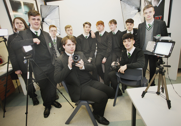 St Malachy\'s College boys are showing great talent in their Moving Image studies
