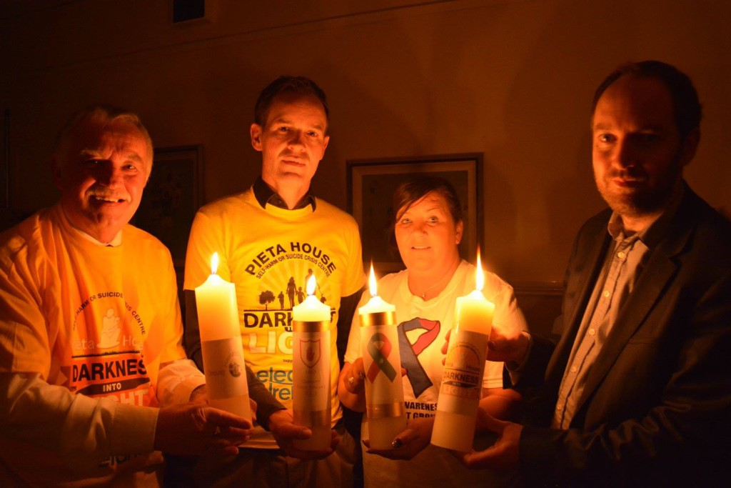 On Saturday, May 6 people  will gather at the Lámh Dhearg and begin a 5K walk at 4.15am in the dark, finishing as the sun rises