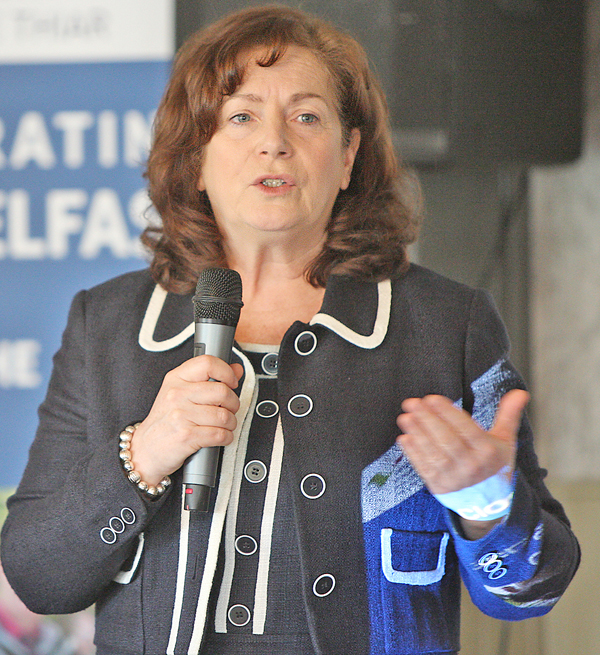 Geraldine McAteer has urged people to take advice on home safety