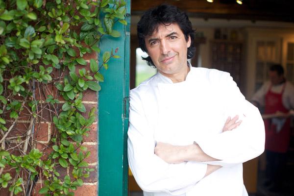 Michelin-starred chef Jean-Christophe Novelli