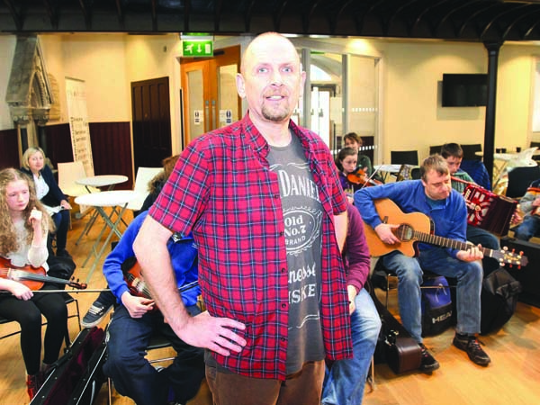 Ray Giffen of the Duncairn Centre for Culture and Arts will spend a month in New York