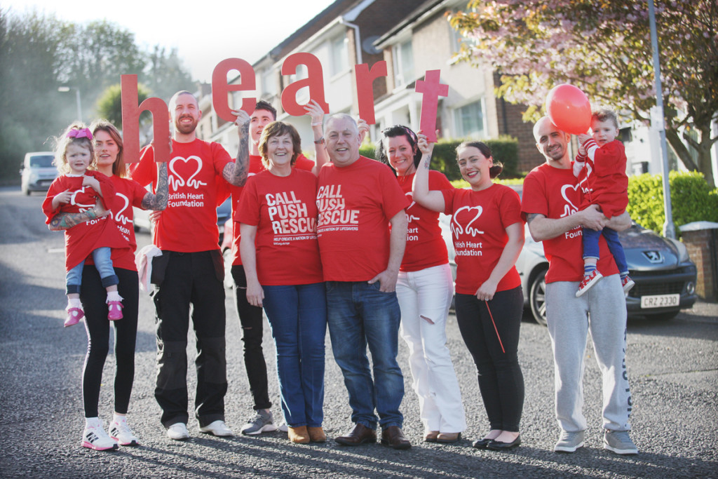 HEARTFELT: The family of Joe Burns are to pull on their runners for the Marathon