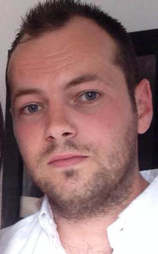 PSNI launch murder investigation Caption: North Belfast father of two Paul McCready who died yesterday morning after an 'altercation' in Belfast city centre