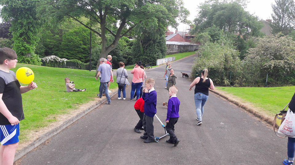 VIGILANT: Parkside residents are determined to rid Alexandra Park of drug dealers