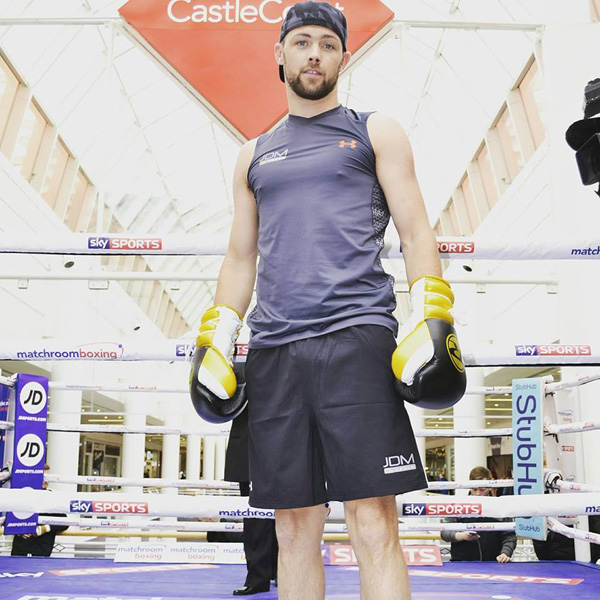 Padraig McCrory is hoping he will have a busy 2017 starting with his pro debut against Jacob Lucas on Saturday