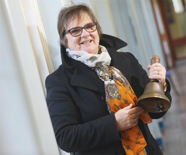 Outgoing Cliftonville IS Principal Brenda McMullen