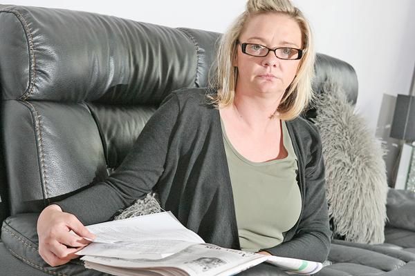 DOCUMENTS:Lisa McNally at home this week