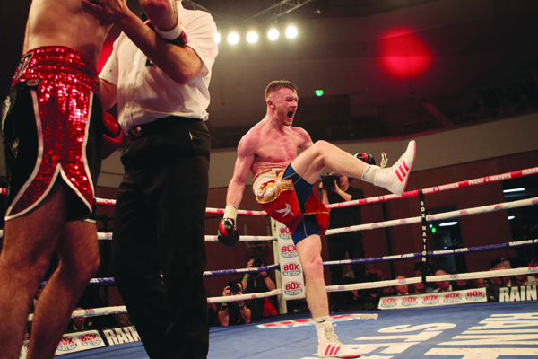 TEENYKICKS:James Tennyson says his confidence is high folowing his victory over Declan Geraghty in March