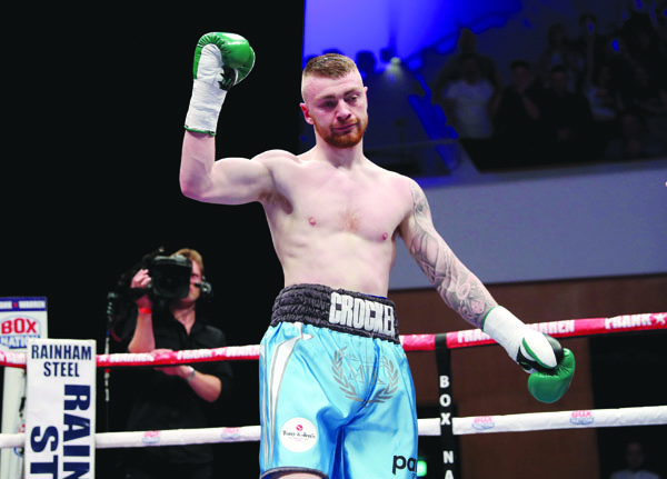 Lewis Crocker has been hugely impressive in the early stages of his pro career