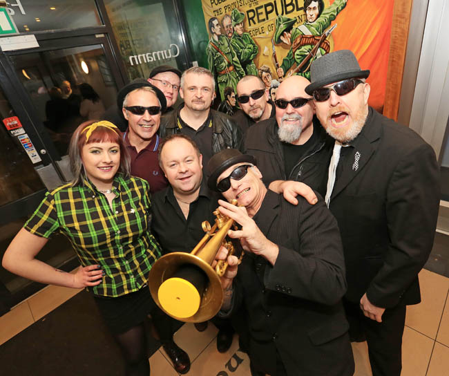 PD Club, SKA Night with Doghouse. pictured: Doghouse SKA JC17