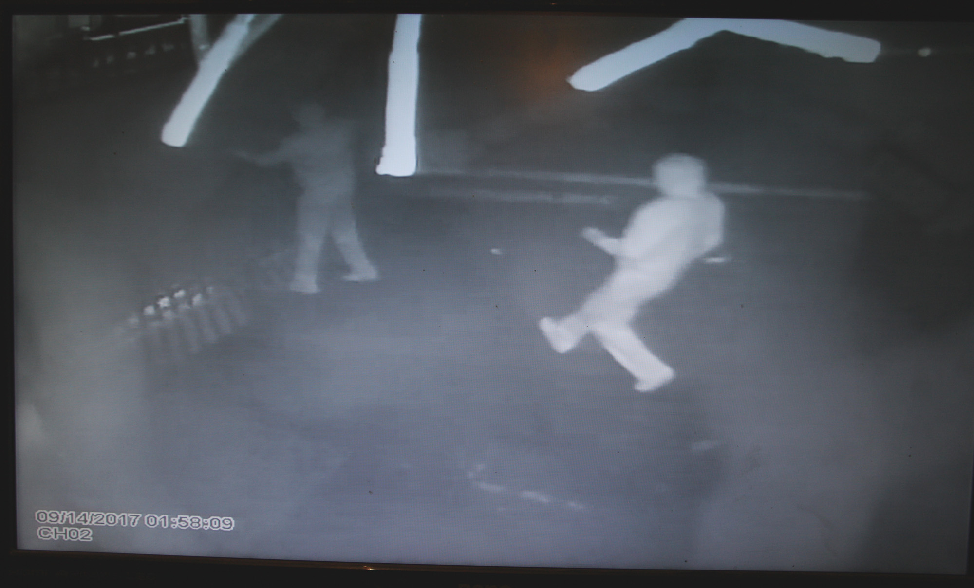CCTV image from Oldpark robbery
