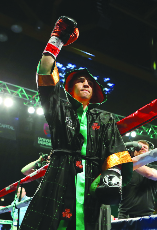 Michael Conlan will step through the ropes as a professional for the fourth time in Tucson, Arizona tomorrow (Friday) night\nMandatory Credit ©INPHO/Tom Hogan