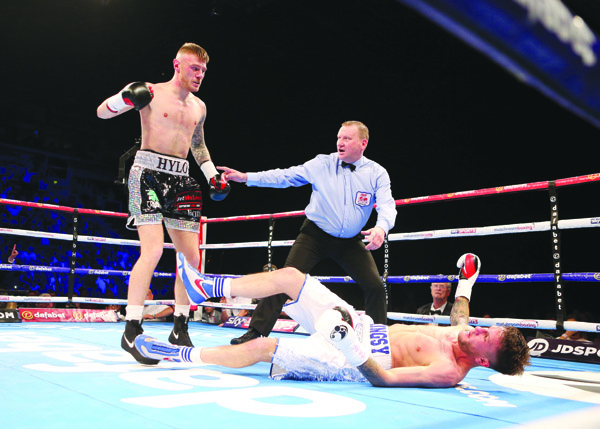 Paul Hyland scored a sensational knockout win over Adam Dingsdale last time out\nPhoto by Matt Mackey / Press Eye.