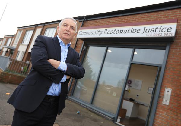 Jim McCarthy from Community Restorative Justice (CRJ)