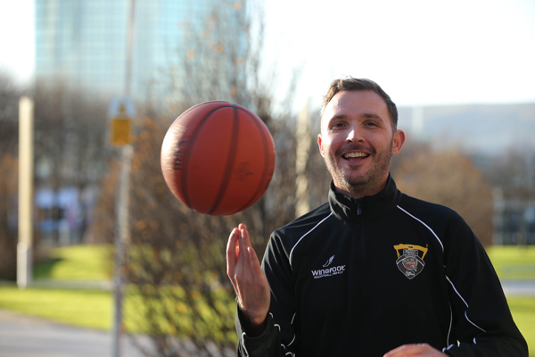 Marc Mulholland is the driving force behind the Basketball Hall of Fame, Belfast Classic which  takes place next  weekend (Friday 1 December and Saturday 2nd December) at the SSE Arena