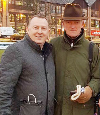 The PG had a chat with Willie Mullins after Faugheen won on Sunday