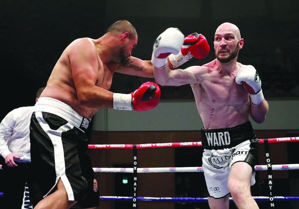 Steven Ward is delighted to get a slot on this week's prestigious SSE Arena card