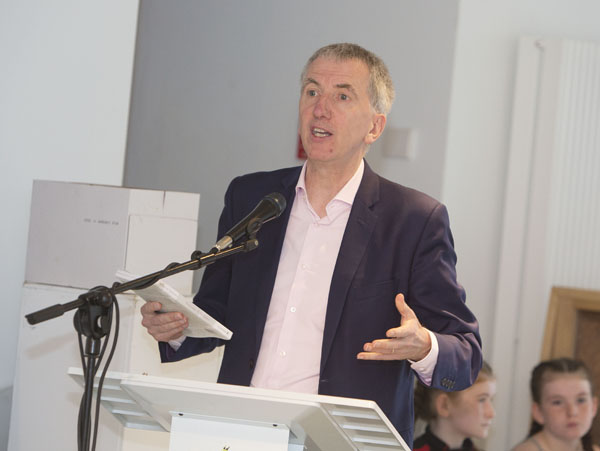 Máirtín Ó Muilleoir says Tory austerity is behind the proposal that prescription charges be brought back