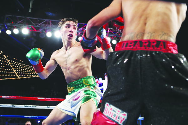 Michael Conlan returns to The Theatre at Madison Square Garden where he enjoyed a successful debut back on St Patrick's Day