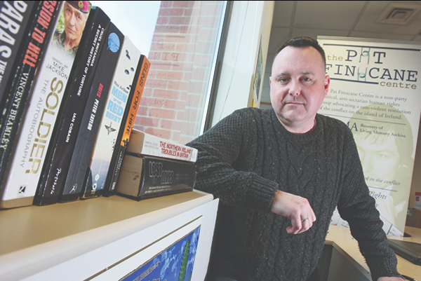 RESEARCH: Micheal Smith, Advocacy Case Worker at the Pat Finucane Centre