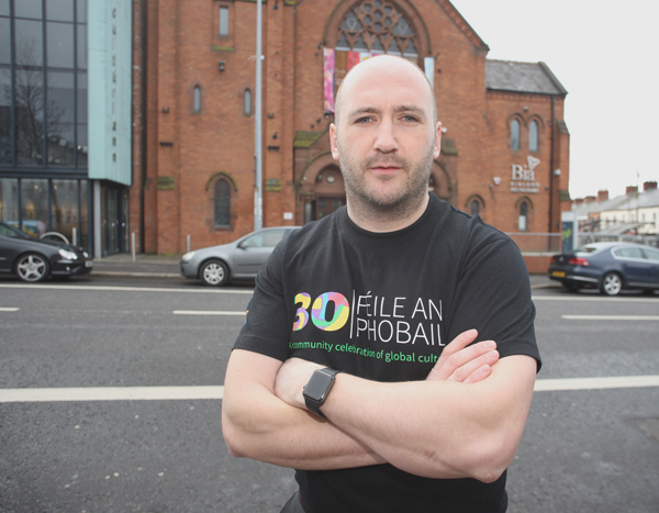 QUITE A COUP: Féile Director Kevin Gamble is excited about the line-up for the GFA discussion