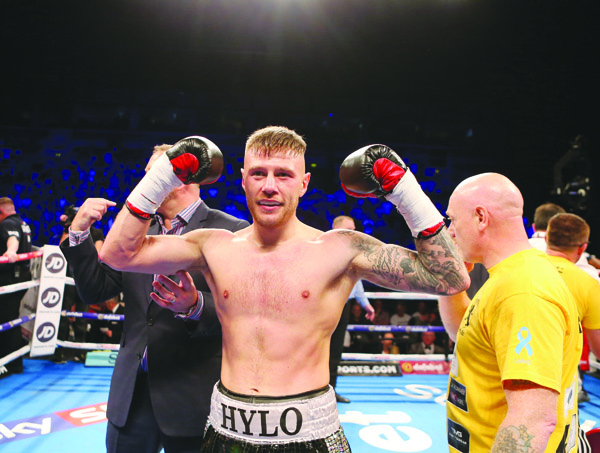 Paul Hyland Jnr says winning the Lonsdale Belt has always been an ambition Photo by Matt Mackey / Press Eye.