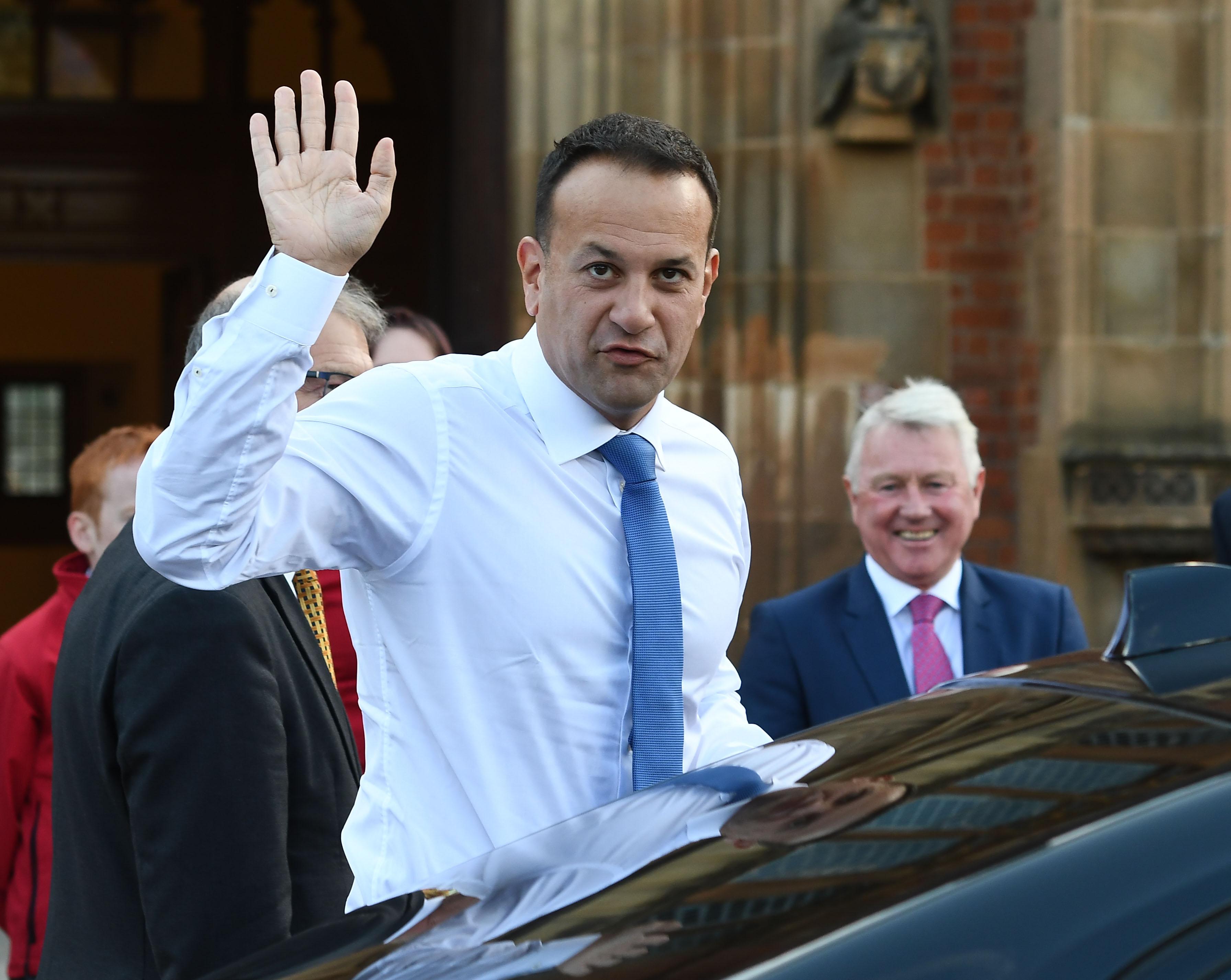 Taoiseach Leo Varadkar will be in West Belfast on Friday