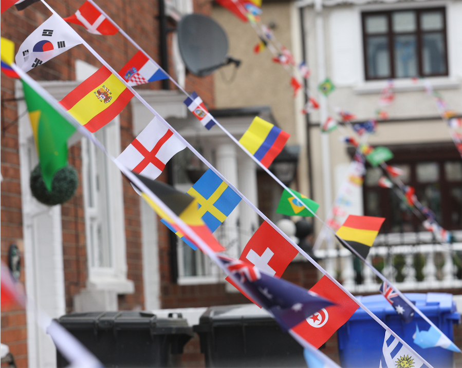 WORLD CUP FEVER: Whiterock Crescent