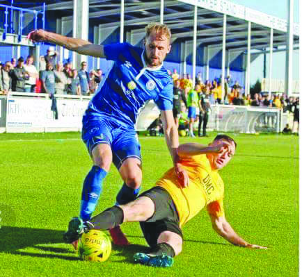 St James' Swifts and Billericay will meet in another friendly this Sunday at Donegal Celtic Park (kick-off 2pm)