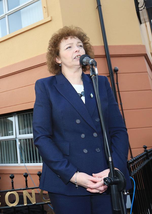 Sinn Féin MLA Carál Ní Chuilín