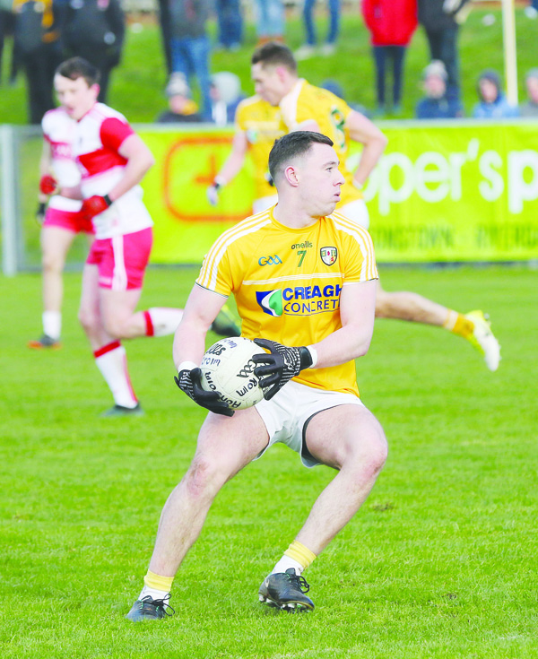 Antrim captain, Declan Lynch insists the huge turnover of players isn't an excuse for their disappointing League campaign ahead of Sunday's round four clash with London at Corrigan Park