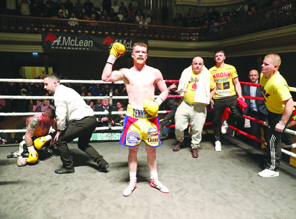 James Tennyson will top the bill at the Europa Hotel on May 18