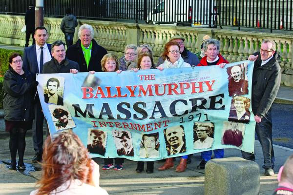 The Ballymurphy Massacre Families at Belfast High Court
