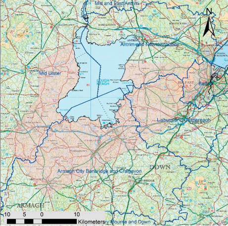 REJECTED:The pink area of the map is the area that would be affected by the licence
