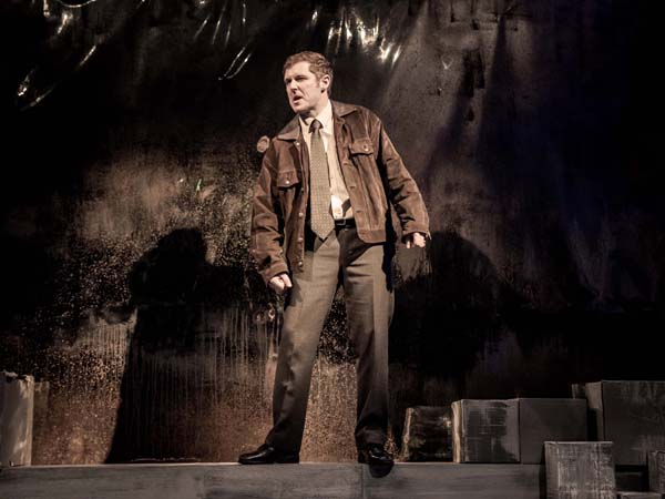 Matthew Forsythe stars as Kenneth McAllister in the Soda Bread Theatre production at the Lyric