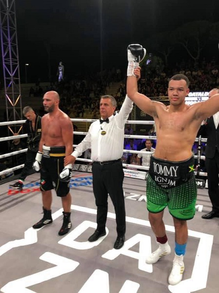 Tommy McCarthy was a winner in Rome this evening