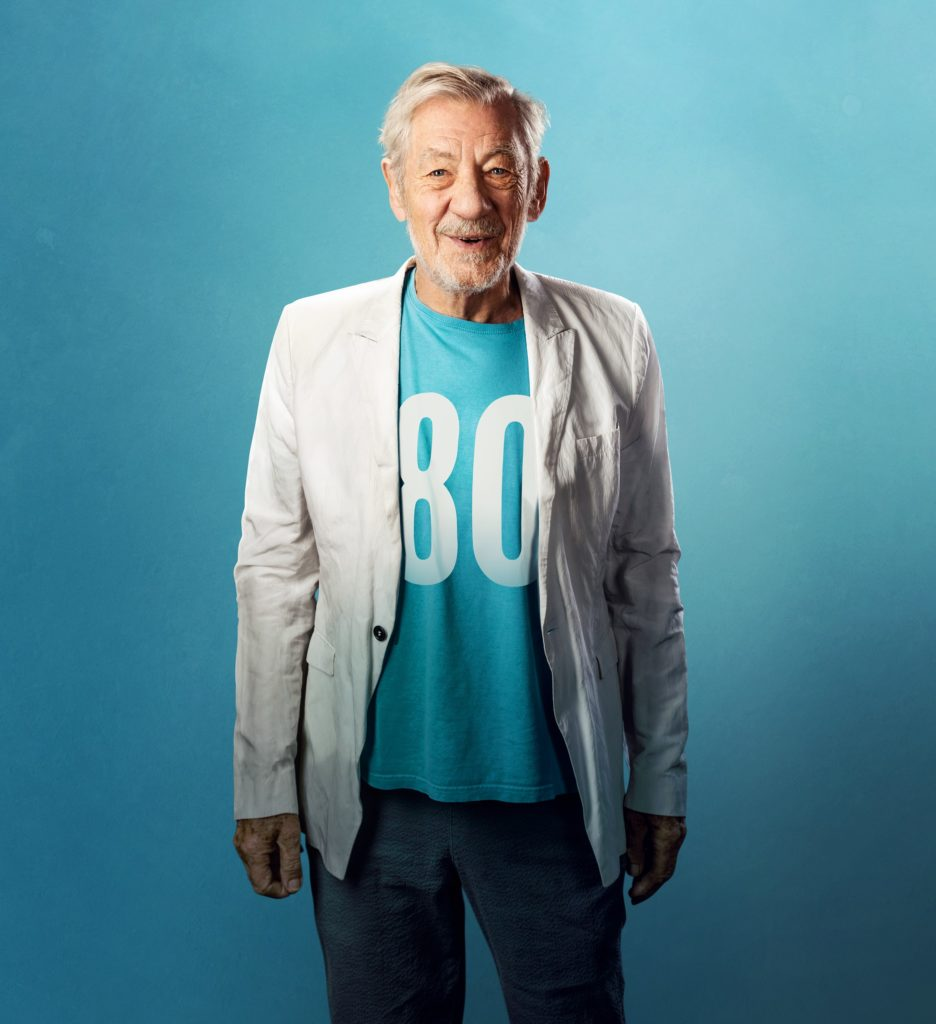 Sir Ian McKellen performs at The Lyric Theatre 25-26 July.  Pic by Oliver Rosser, Feast Creative
