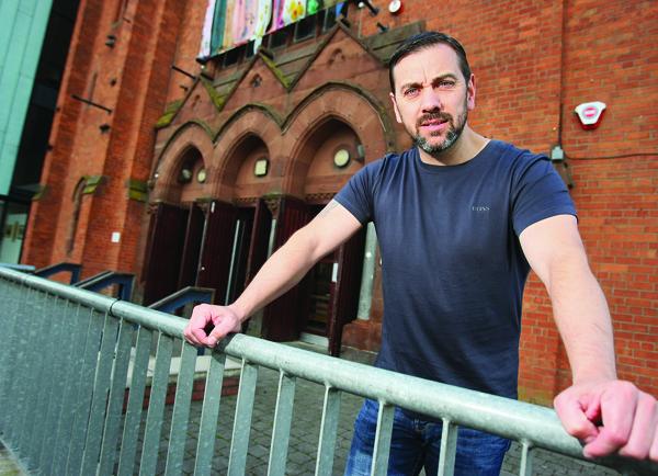 TIME FOR TRUTH: West Belfast film-maker Seán Murray