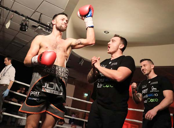 Padraig McCrory predicts his skill and power will be too much for the naturally bigger Steve Collins Jnr on Saturday