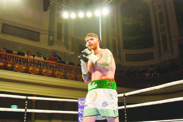 Dee Sullivan enjoyed a winning start to life as a professional against Pawel Strykowski at the Ulster Hall in May