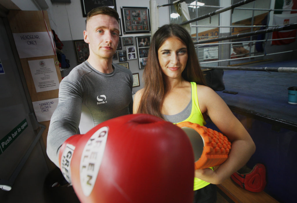 PACKING A PUNCH: Trainers Ryan Kelly and Lauren McCartney want to bring people together