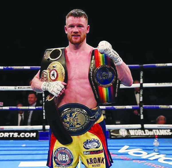 James Tennyson returns to the 02 Arena where he enjoyed a career-best win over Martin J Ward at super-featherweight last year to claim the European and Commonwealth titles
