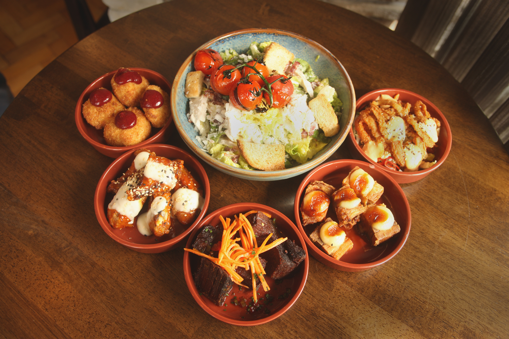 A selection of small plates
