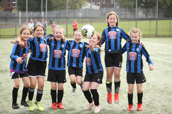 The Belfast Swifts junior ladies soccer tournament at the Brook Activity Centre on Sunday