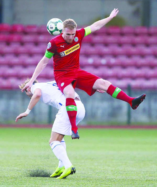 Paddy McLaughlin is hoping to have Chris Curran back for this weekend's trip to Carrick