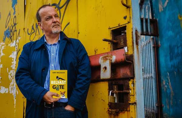 NEW BOOK: Tony Macaulay is set to launch Belfast Gate