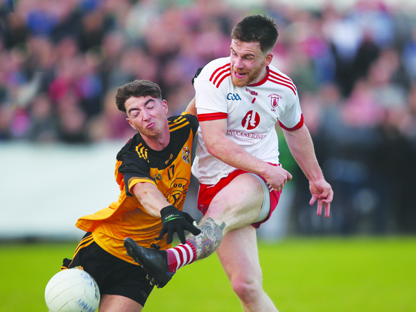 Lámh Dhearg and Portglenone have failed to be separated after two games that included extra-time and a free-kick contest following Thursday's replay