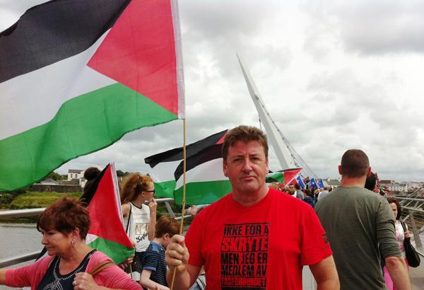 CAMPAIGNER: North Belfast man Eddie Whyte
