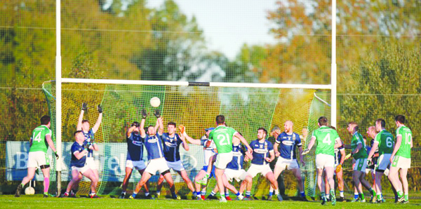 Cargin's Tómas McCann scored a dramatic injury-time winning goal against St Gall's in last year's Antrim SFC semi-final at Creggan and the sides renew their rivalry at the same stage of this year's Championship at Corrigan Park this Sunday evening